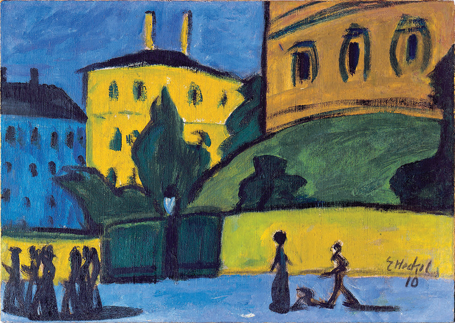 Dresden Suburb By Erich Heckel, 1910. Chemnitz Gemälde Galerie; Except As  Noted, All Images Courtesy Of The Victoria And Albert Museum, London.