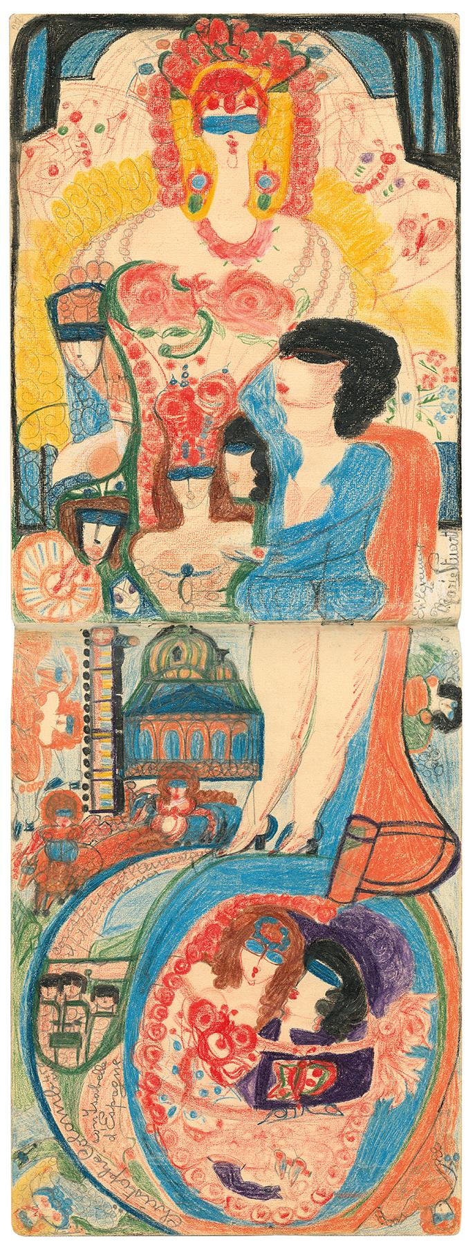 Aloise Corbaz Art