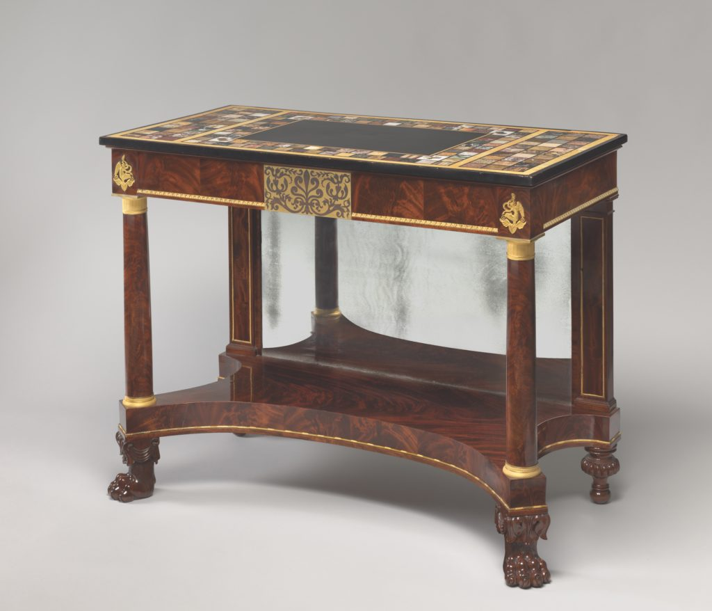 Sofa Table Attributed To Isaac Vose And Son, 1819u2013 1822. Private  Collection; Photograph By David Bohl, Courtesy Of The Colonial Society Of  Massachusetts, ...