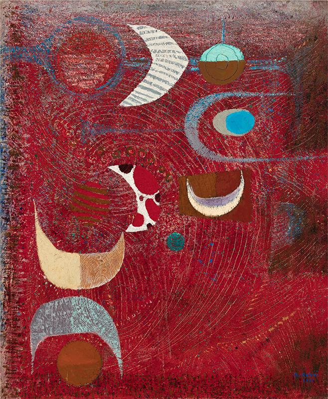 Bedri Rahmi Eyuboglu Grey Art Gallery, New York University Art Collection, gift of Abby Weed Grey