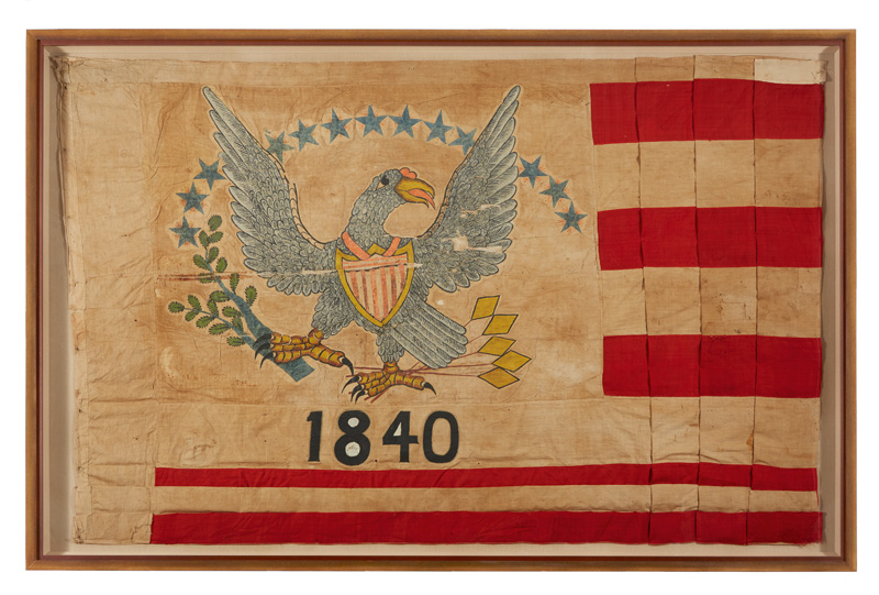 Keim Curious Objects 13-star American flag, California