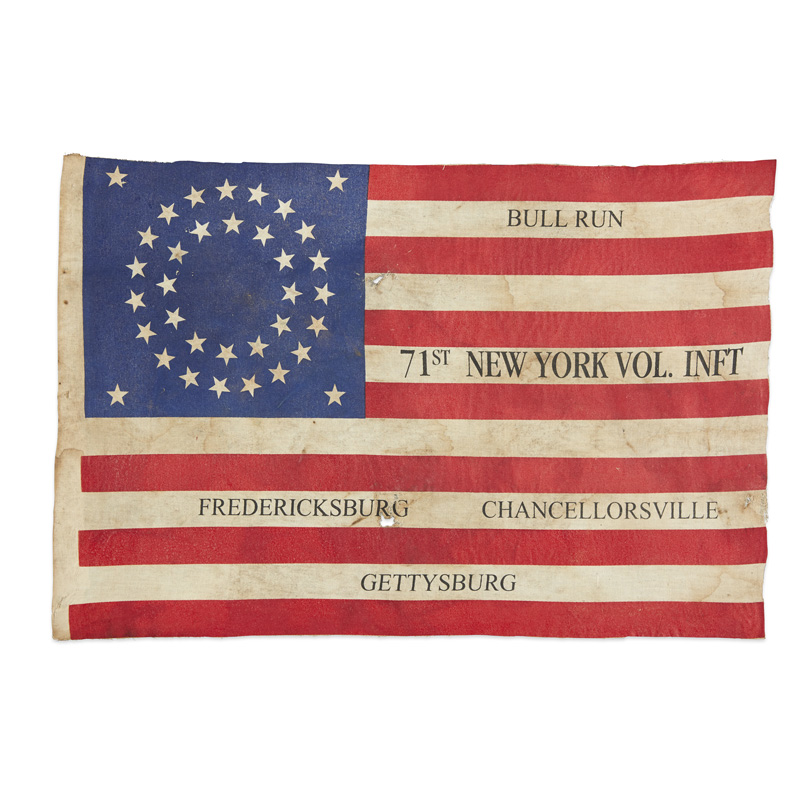 Civil War Veterans Flag Curious Objects Keim