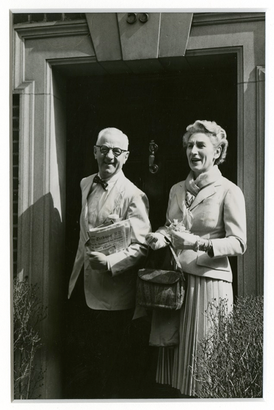 Alice Manheim Kaplan and Jacob M. Kaplan